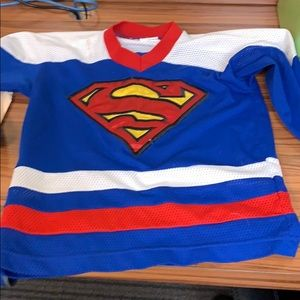 Super man jersey youth S